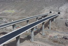 """Nueva Carretera GC-2 tramo: Agaete – San Nicolás de Tolentino"""". Isla de Gran Canaria"""