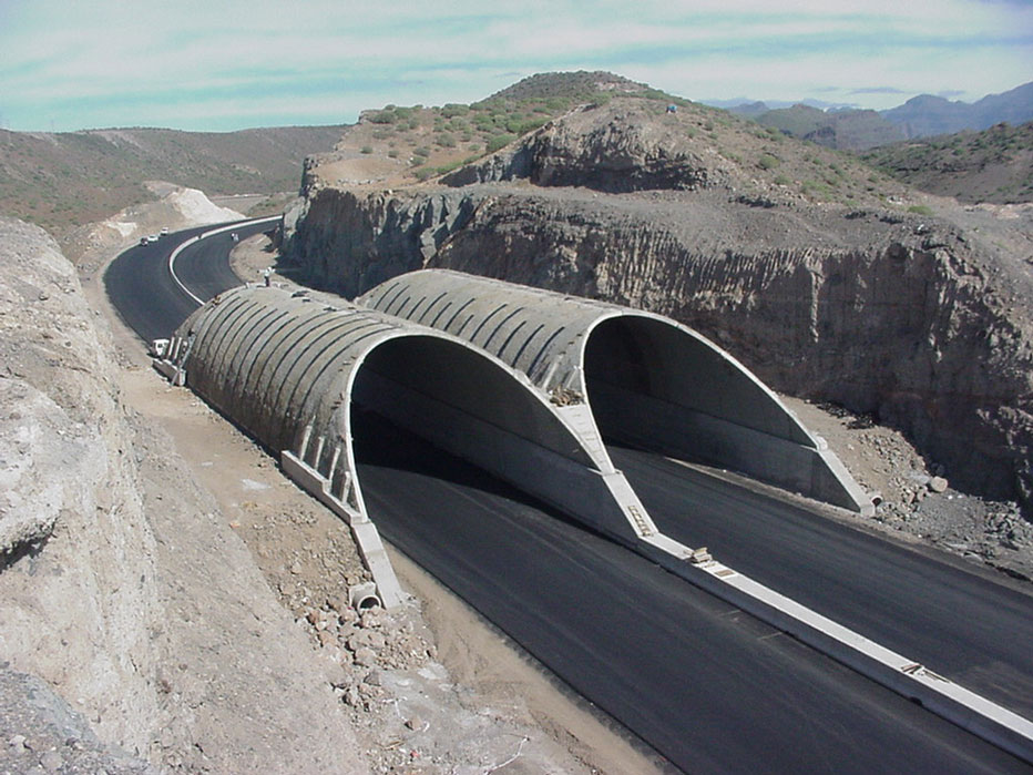 Un operario de 45 años ha fallecido tras ser atropellado en un túnel de la carretera GC-2, en La Aldea de San Nicolás